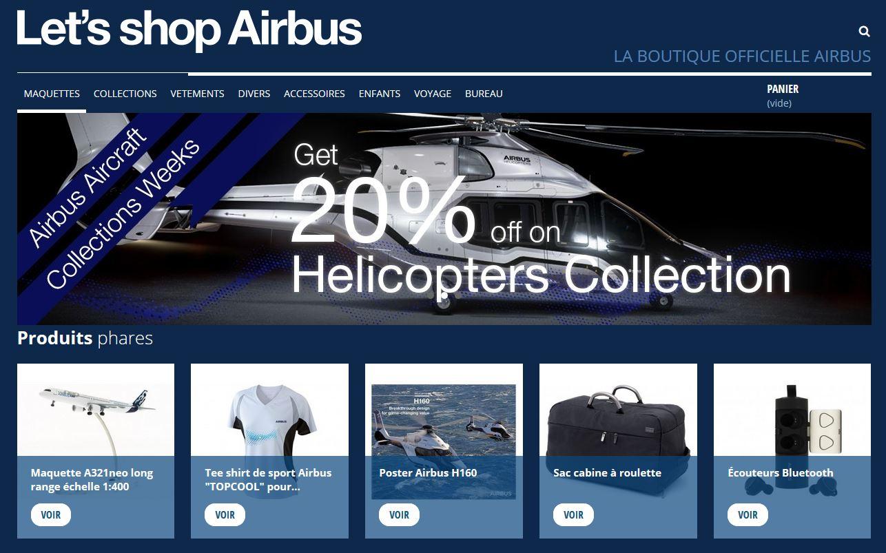 Connexion réussie pour Airbus Shop entre sa gestion commerciale Sage et son site ecommerce PrestaShop
