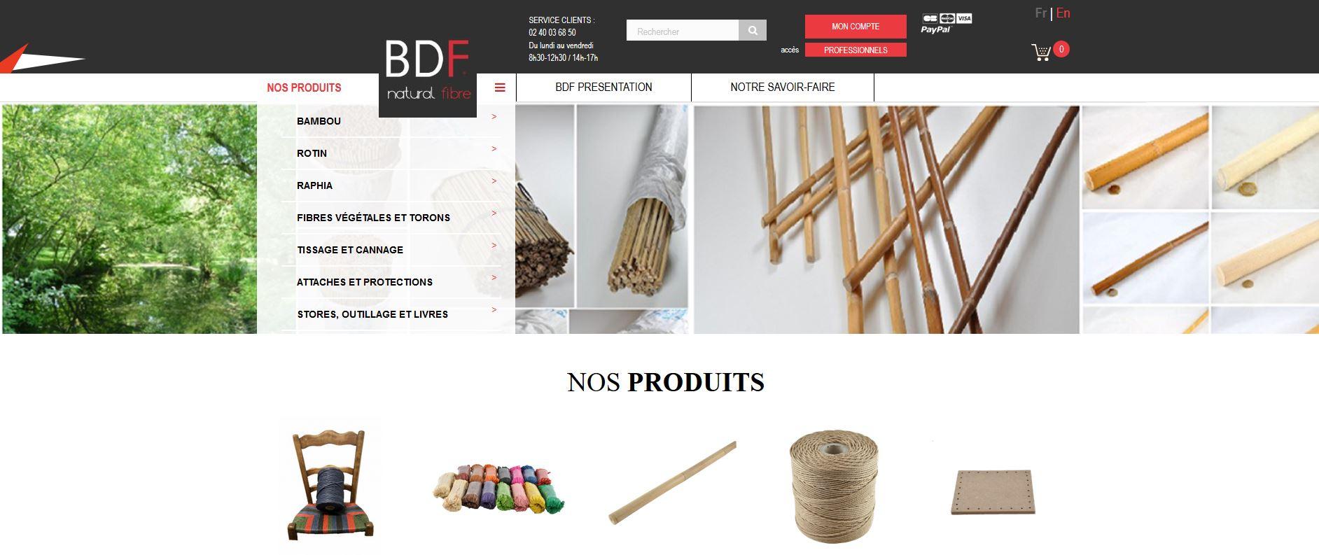 Connexion réussie pour BDF Douineau entre sa gestion commerciale Sage et son site ecommerce PrestaShop