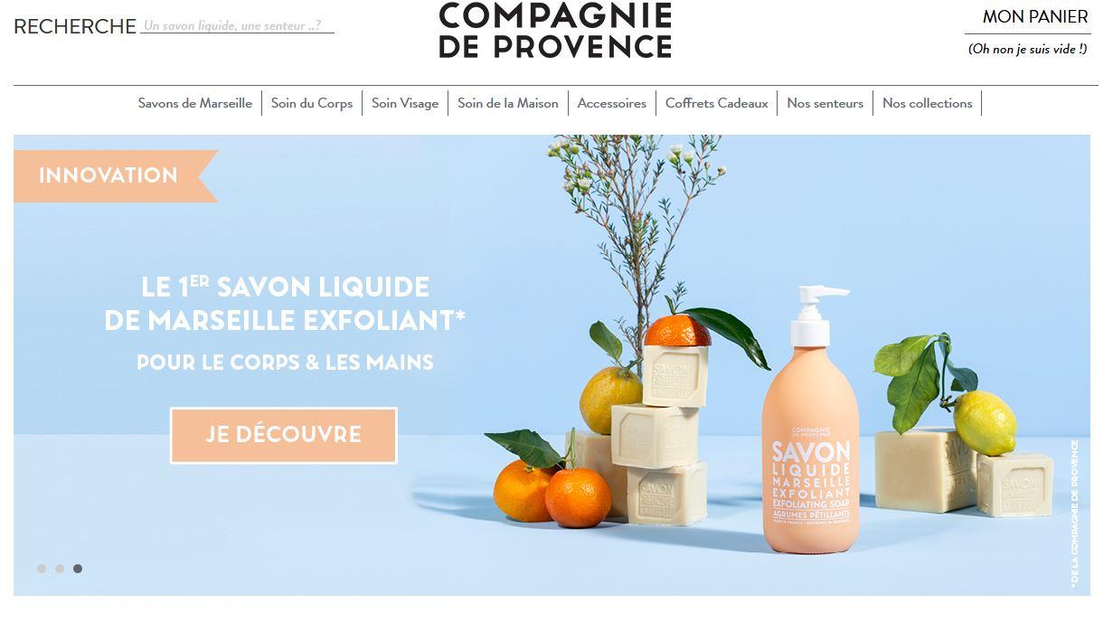 Connexion réussie pour La Compagnie de Provence entre sa gestion commerciale Sage et son site ecommerce PrestaShop