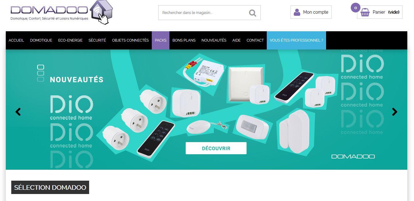 Connexion réussie pour Domadoo entre sa gestion commerciale Sage et son site ecommerce PrestaShop