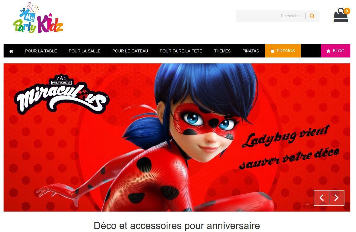 Connexion réussie pour My Party Kidz entre sa gestion commerciale Sage et son site ecommerce PrestaShop