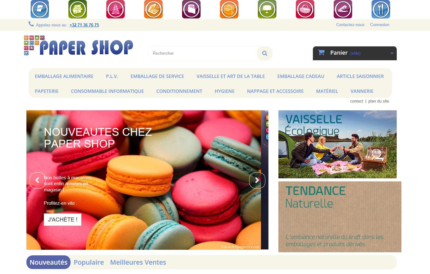 Connexion réussie pour Paper Shop entre sa gestion commerciale Sage et son site ecommerce PrestaShop