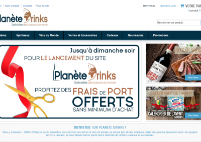 PLANETE DRINKS