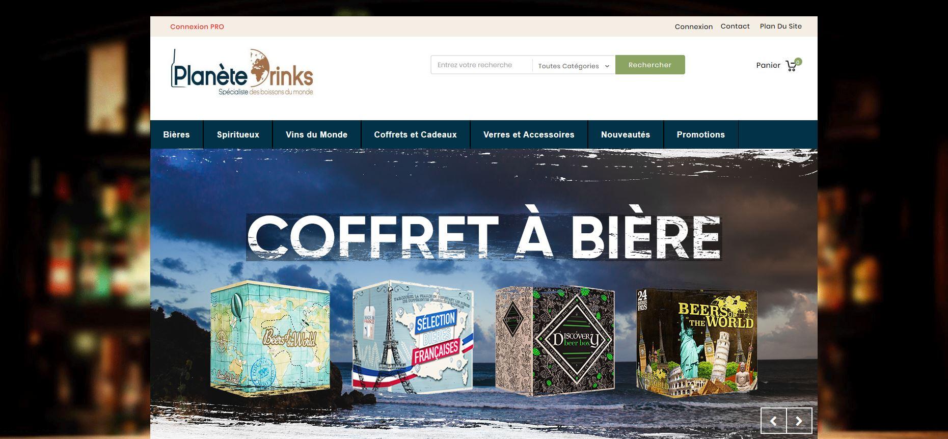 Connexion réussie pour Planete Drinks entre sa gestion commerciale Sage et son site ecommerce PrestaShop