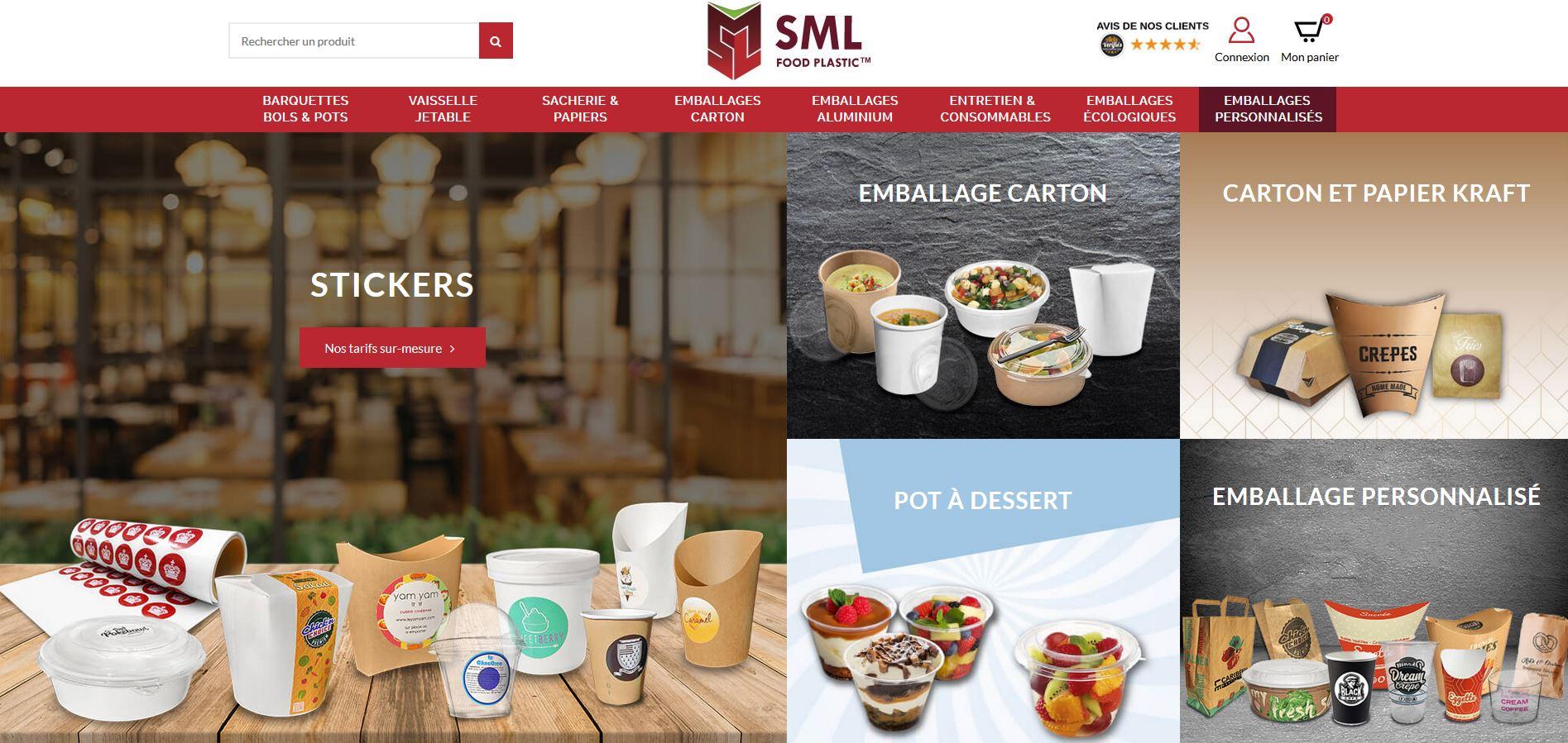 Connexion réussie pour SML Food Plastic entre sa gestion commerciale Sage et son site ecommerce PrestaShop