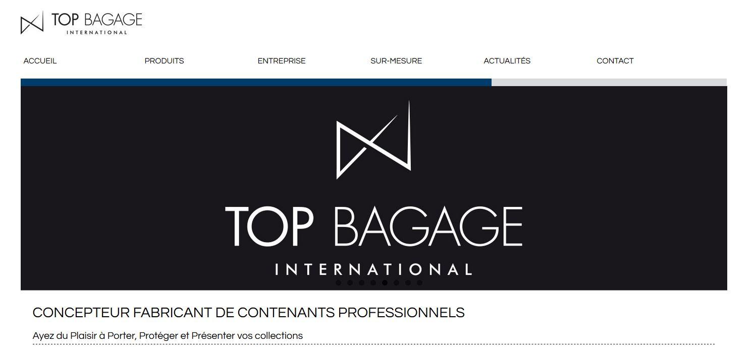 Connexion réussie pour Top Bagage entre sa gestion commerciale Sage et son site ecommerce PrestaShop