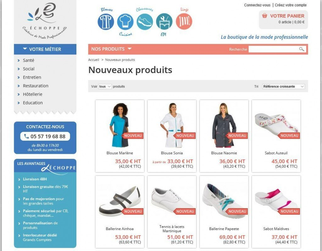 L'Echoppe connecte son PrestaShop à Sage 100 ODBC