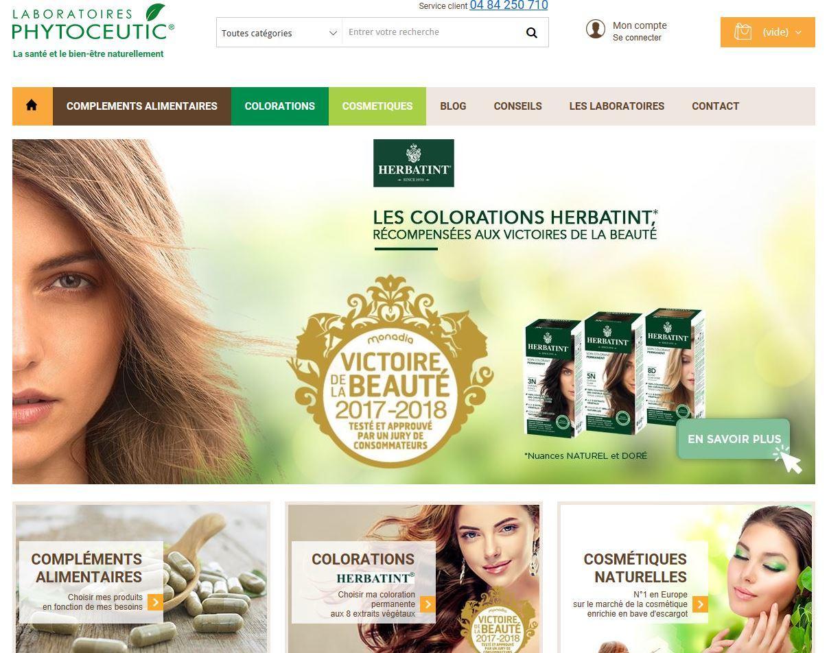 Connexion réussie pour Laboratoires Phytoceutic entre sa gestion commerciale Sage et son site ecommerce PrestaShop