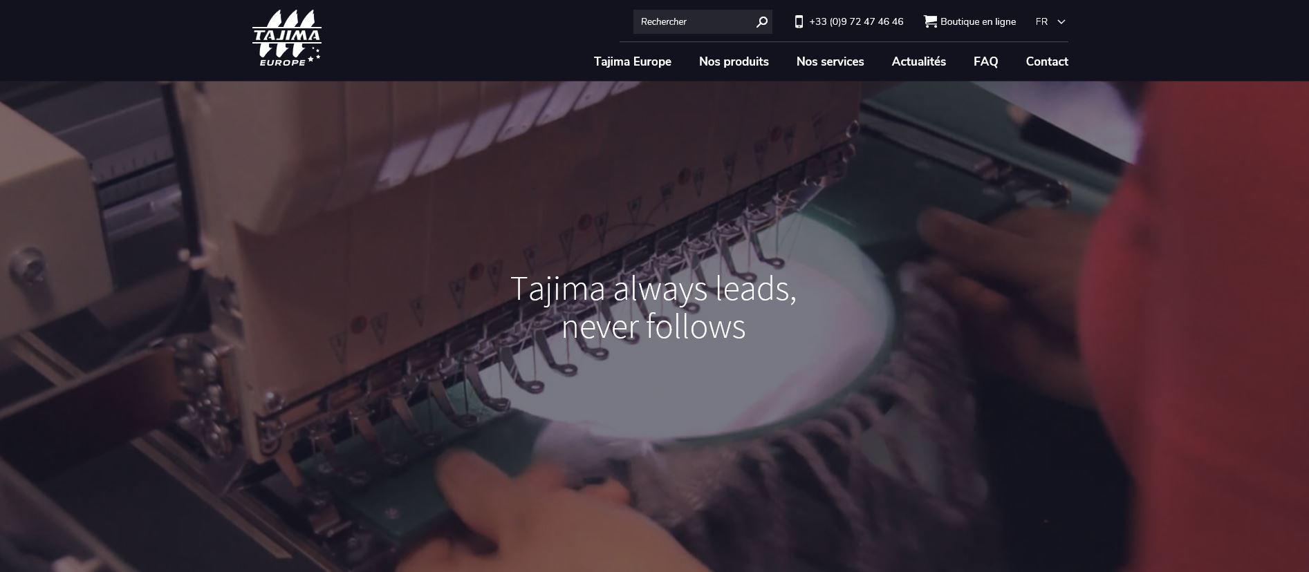 Connexion réussie pour Tajima Europe entre sa gestion commerciale Sage et son site ecommerce PrestaShop