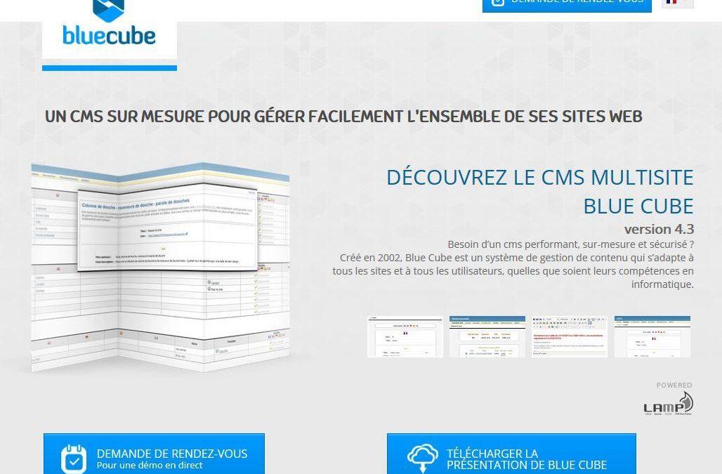 BlueCube CMS connecté à Sage 100 ODBC avec Atoo-Sync