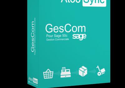 Connecteur Atoo-Sync GesCom Sage 50c pour PrestaShop et WooCommerce