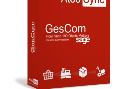 Connecteur Atoo-sync GesCom Sage 100 Objets Métiers pour PrestaShop et WooCommerce