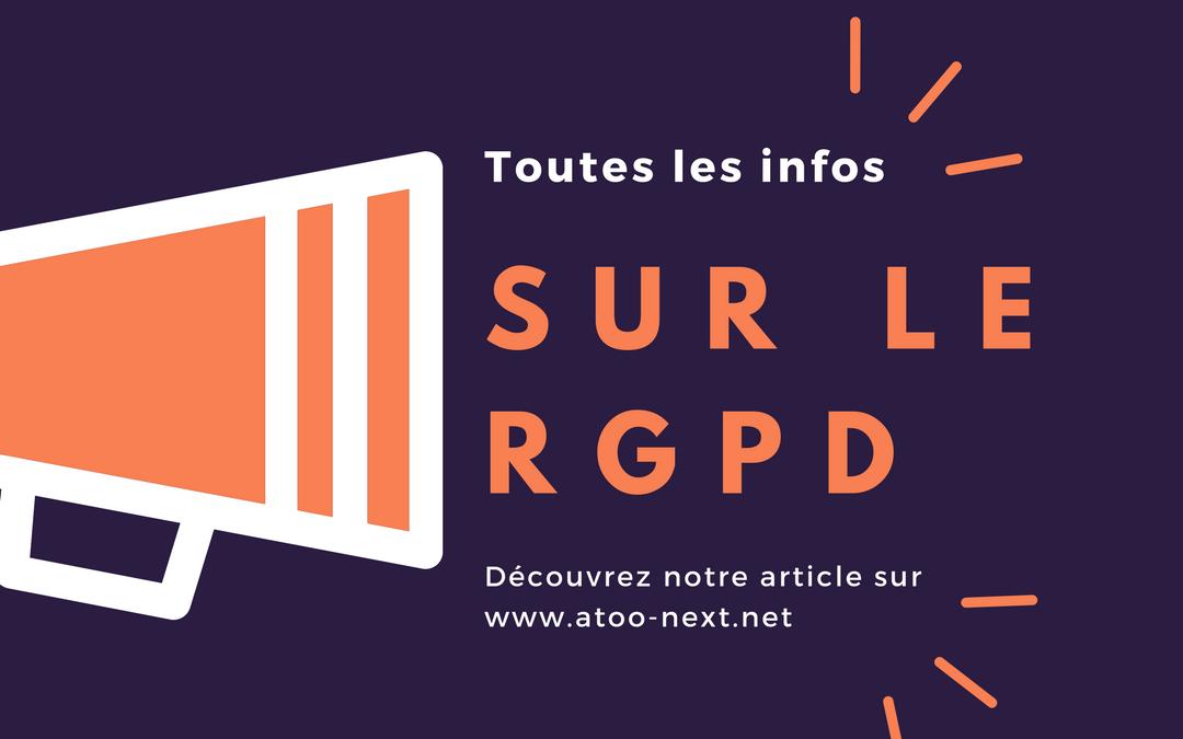 RGDP Règlement Général sur la Protection des Données