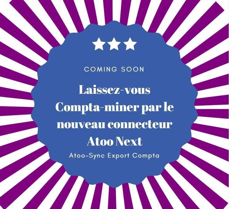 Atoo-Sync Export Compta bientôt disponible sur notre boutique