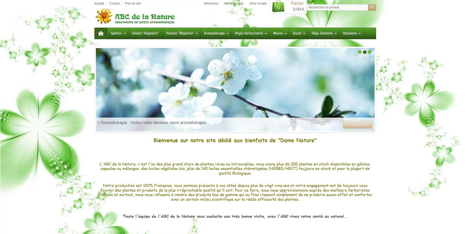Connexion réussie pour ABC de la Nature entre sa gestion commerciale Sage et son site ecommerce PrestaShop