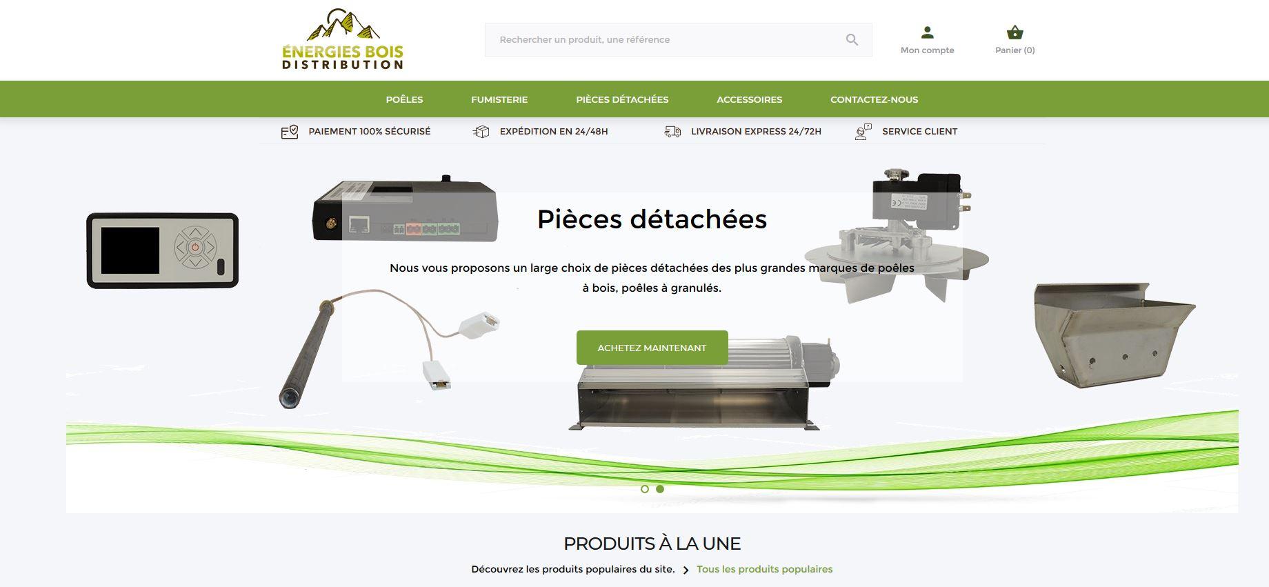 Connexion réussie pour Energies bois Distribution entre sa gestion commerciale Sage et son site ecommerce PrestaShop