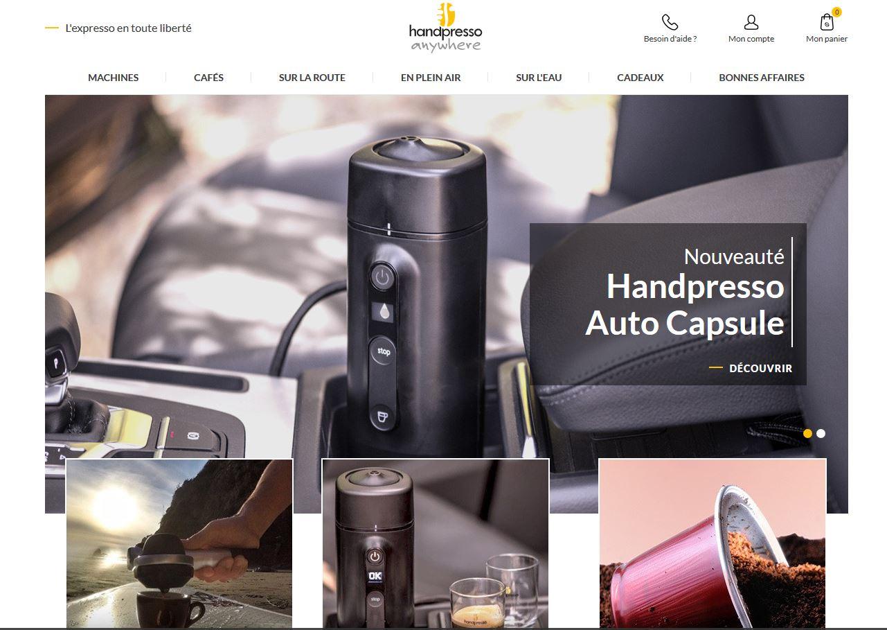 Connexion réussie pour Handpresso entre sa gestion commerciale Sage et son site ecommerce PrestaShop