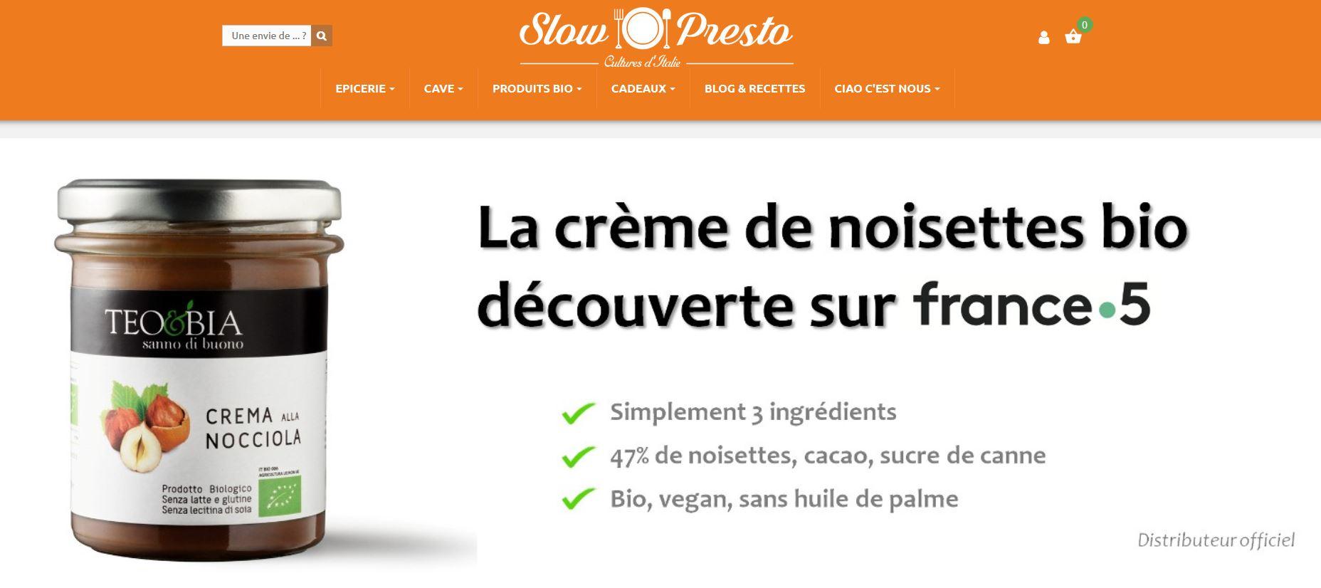 Connexion réussie pour Slow Presto entre sa gestion commerciale Sage et son site ecommerce PrestaShop