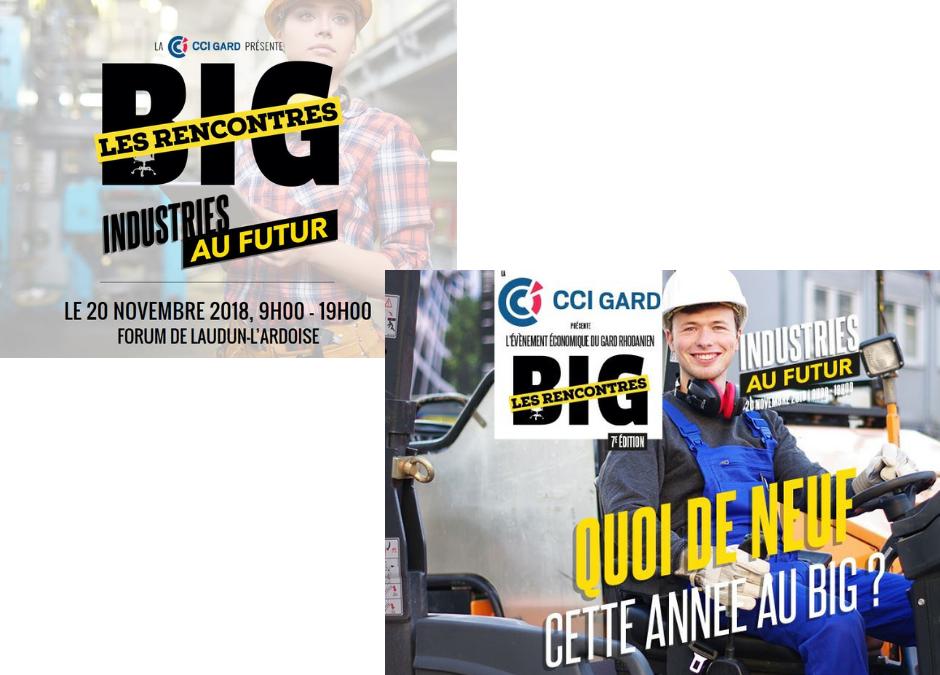 Big, Les rencontres sur les Industries au futur