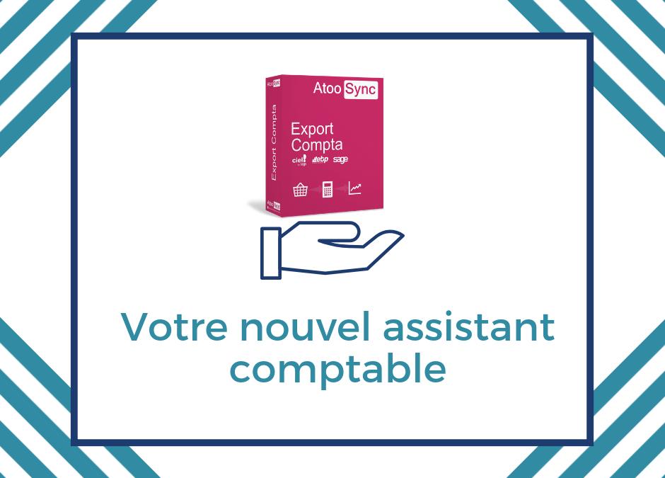 Une gestion comptable facilitée grâce au connecteur Atoo-Sync Export Compta !
