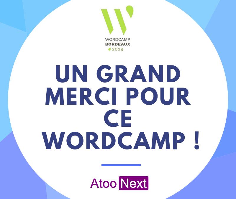 Encore une belle journée au WordCamp Bordeaux