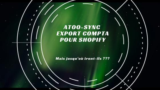 Shopify connecté à votre Comptabilité