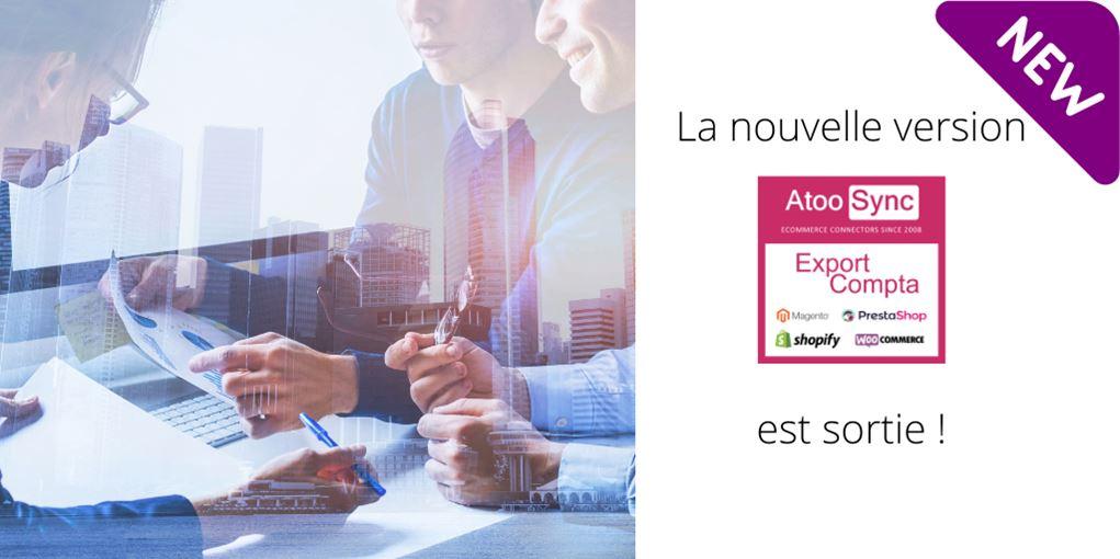 Connecteur eCommerce pour faire sa compta Atoo-Sync Export Compta