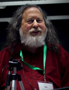 Richard Stallman copy left