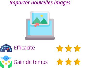 fonctionnalité exporter images